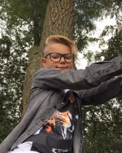 Kinderbril-zwart-montuur